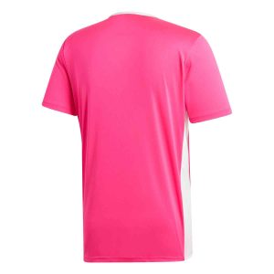 image of adidas entrada pink jersey back