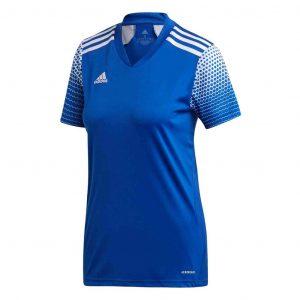image of adidas regista royal blue jersey women's