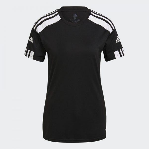 image of adidas squadra black jersey women's