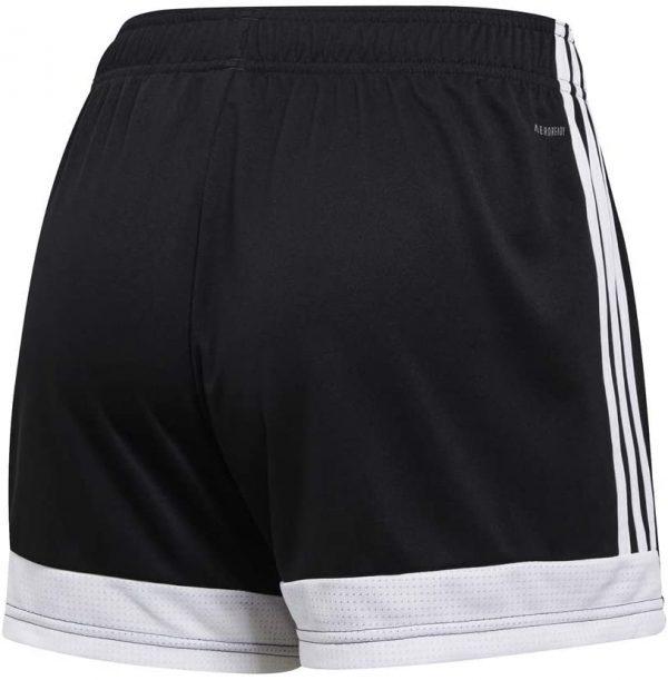 image of adidas tastigo black shorts back