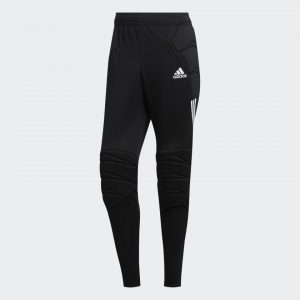 image of adidas tierro goalkeeper pants front