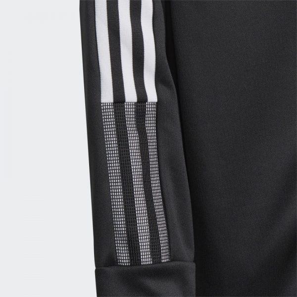 image of adidas tiro black jacket sleeve