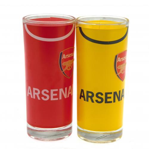 image of arsenal highball glasses