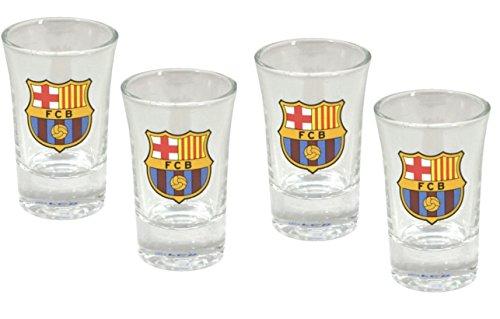 image of barcelona shot glasses