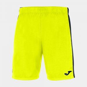 image of joma maxi shorts yellow black
