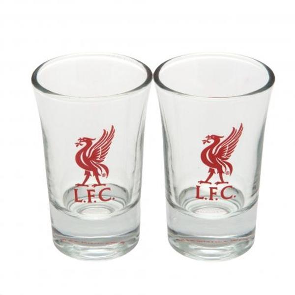 image of liverpool shot glasses