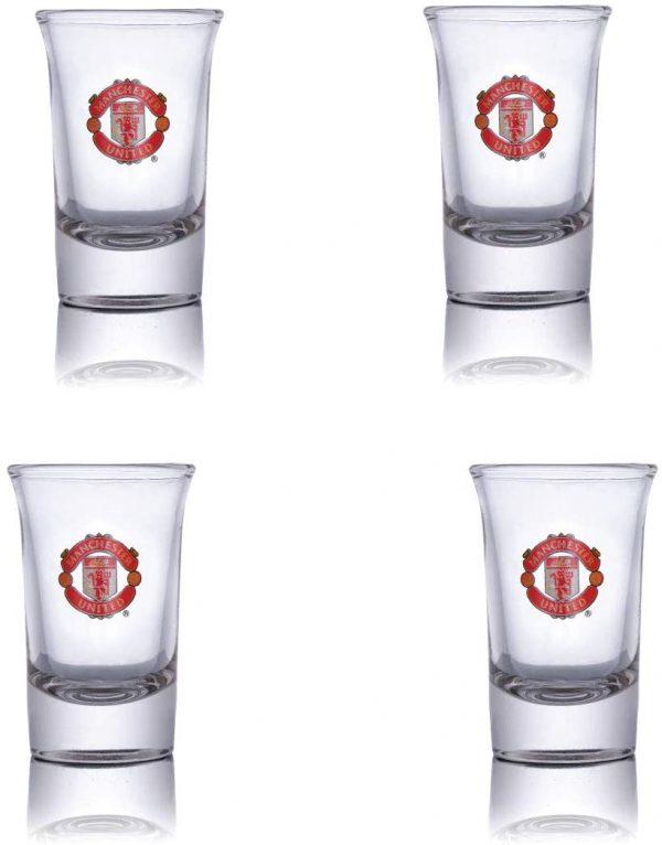 image of manchester united shot glasses