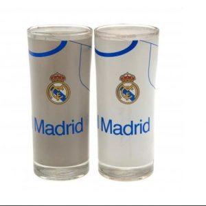 image of real madrid highball glasses