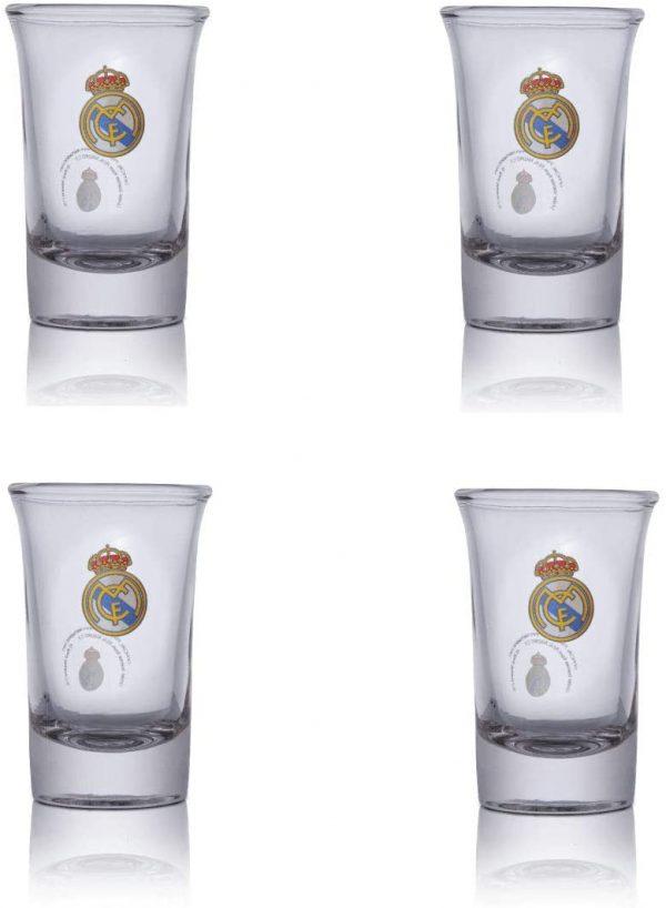 image of real madrid shot glasses